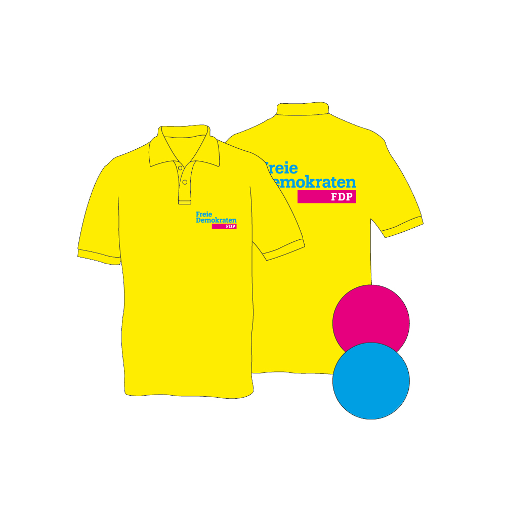 wholesale dealer c0e44 778ab Marken-Poloshirt mit Logo
