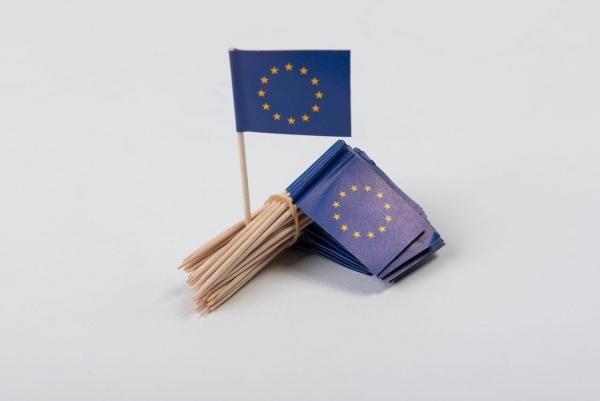 EU Partypicker Fähnchen