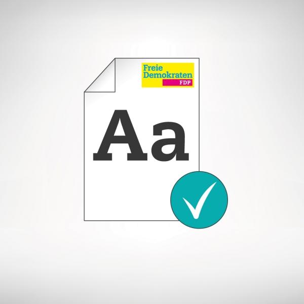 Texter-Service für Kandidatenflyer, Wahlprogramme etc.