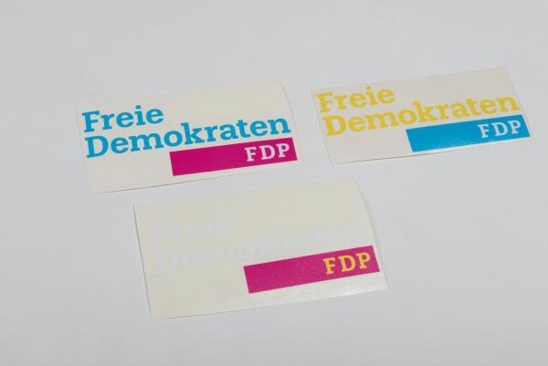Autoaufkleber Freie Demokraten FDP