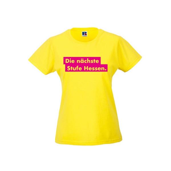 """T-Shirt """"Die nächste Stufe Hessen."""""""