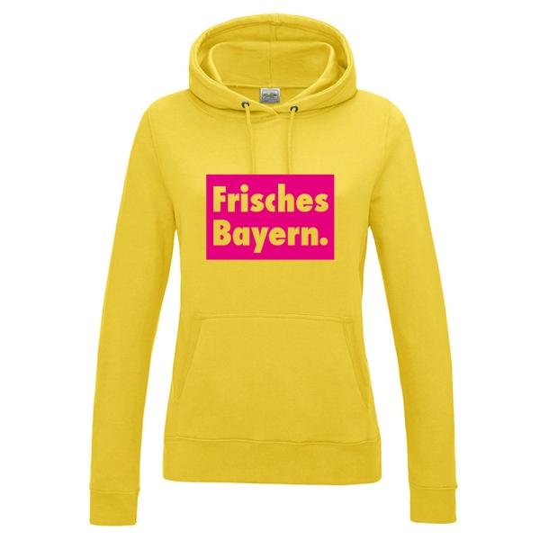 """Hoodie """"Frisches Bayern."""""""