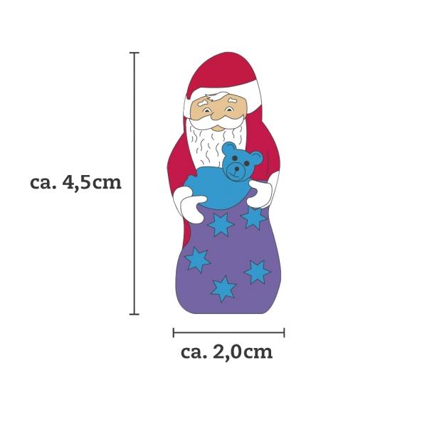 Milka Mini Weihnachtsmänner