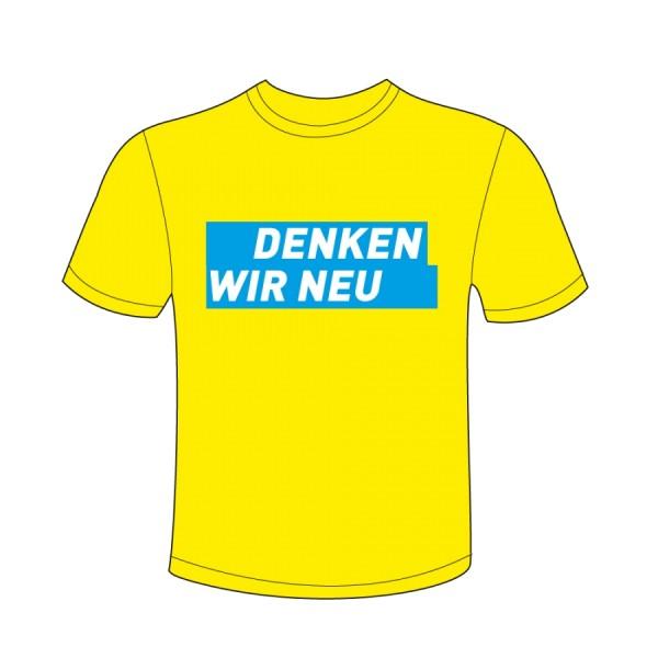 T-Shirt DENKEN WIR NEU