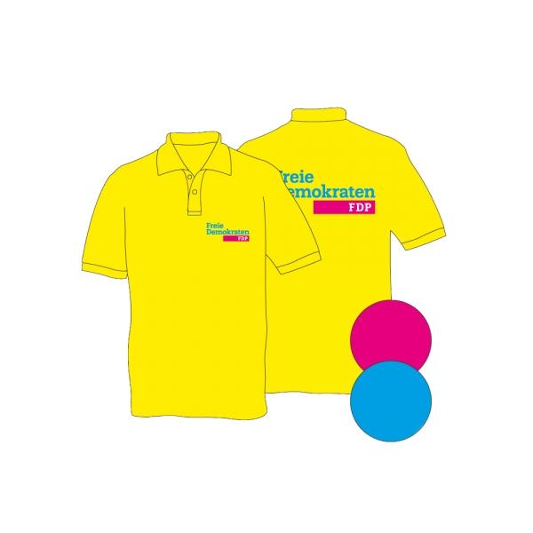 Marken-Poloshirt mit Logo