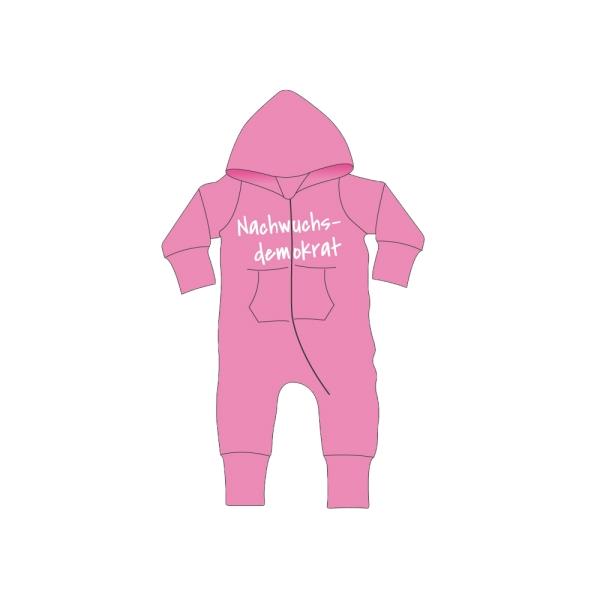Baby All-in-One Hausanzug mit Aufstick