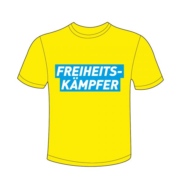 T-Shirt Freiheitskämpfer