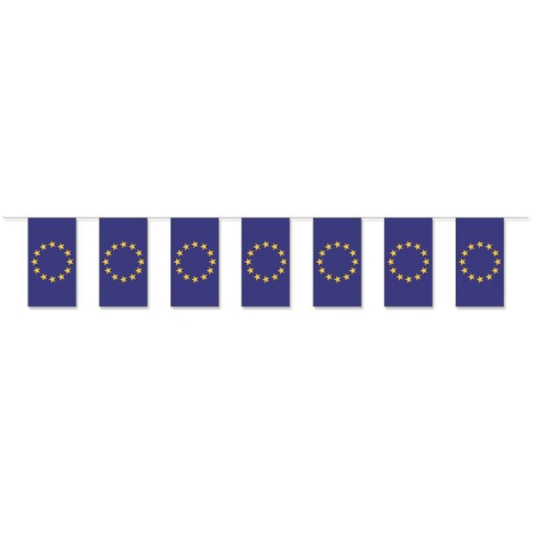 EU Fahnenkette