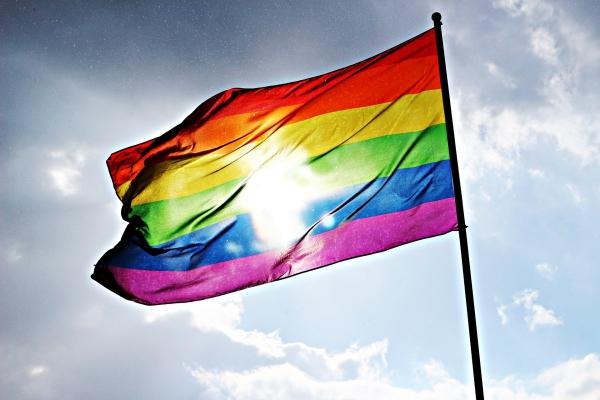 Regenbogen Pride Flagge